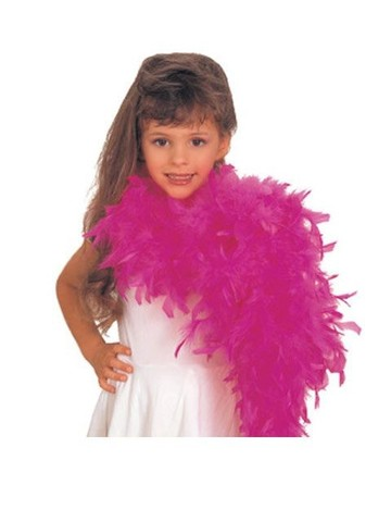 Hot Pink Boa for Girls