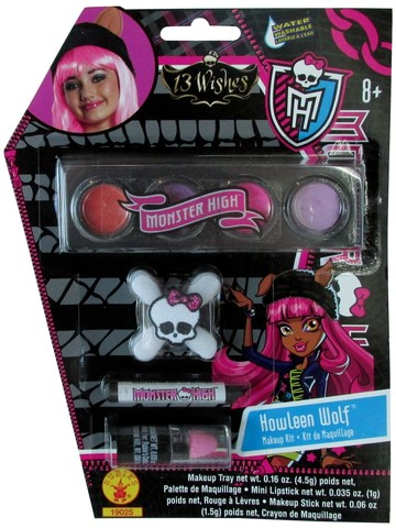 Girl's Howleen Monster High Makeup Kit