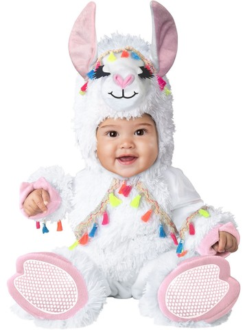 Girls Lil Llama Child Costume