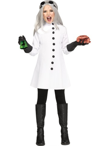 Mad Scientist Costume for Girls