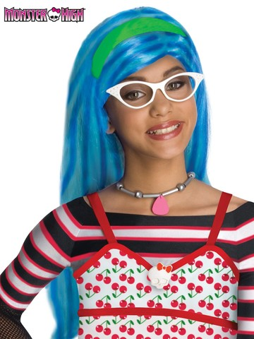 Girl's Monster High Ghoulia Yelps Wig