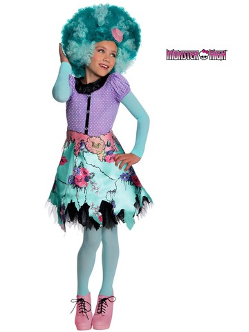 Girls Monster High Honey Costume