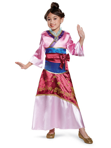 Girls Mulan Costume Deluxe
