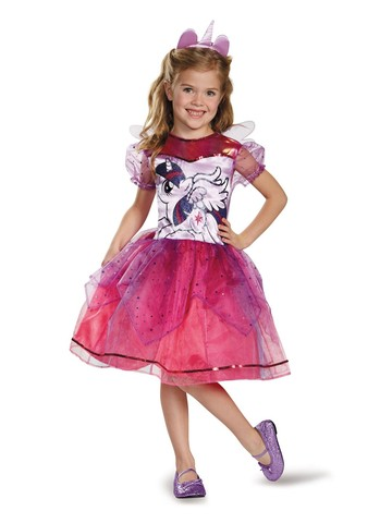 Girls My Little Pony Twilight Sparkle Deluxe Costume