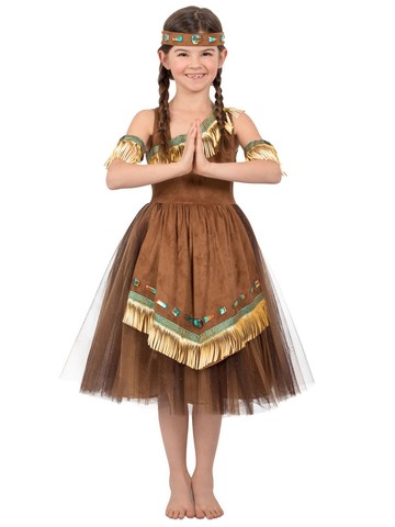 Native American Girl's Princess Costume