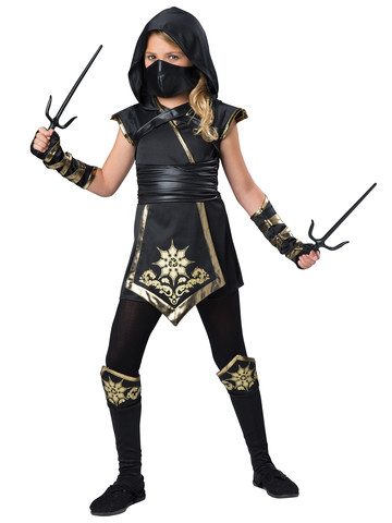 Girls Ninja's Mystique Costume