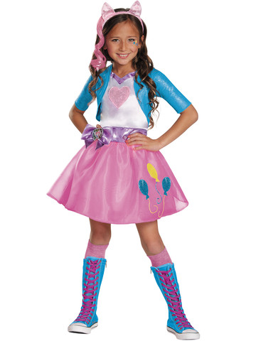 Girls Pinkie Pie Equestria Deluxe Costume