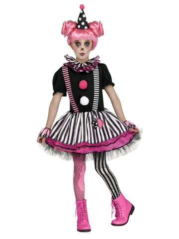 Pinkie the Clown Costume for Girls