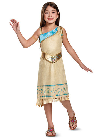 Girls Pocahontas Costume Deluxe