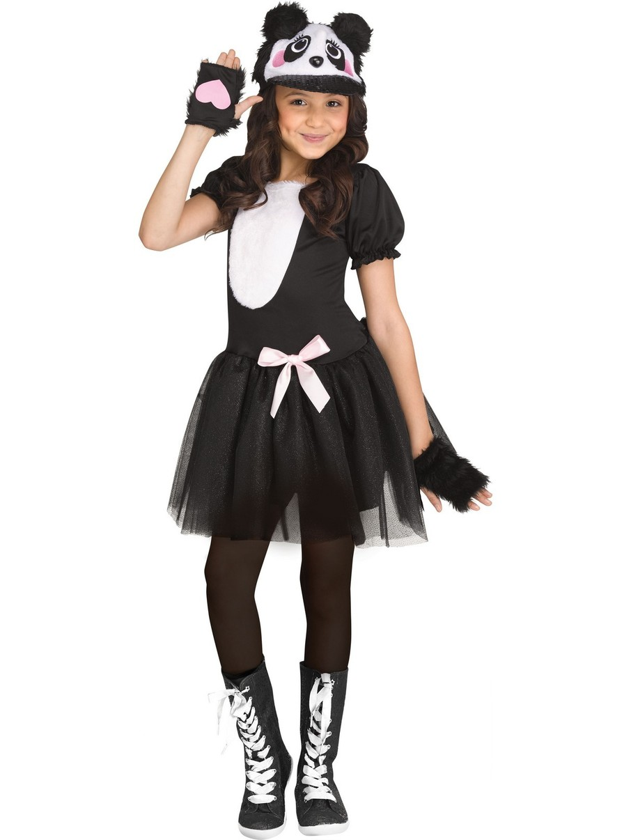 View larger image of Pretty Panda Costume for Girls