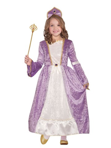 Princess Peyton Purple Costume for Girls