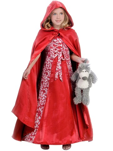 Princess Red Riding Hood Girl's Costume