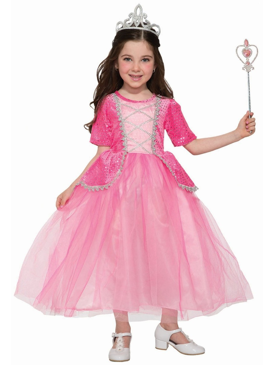 View larger image of Silver Rose Princess Costume for Girls