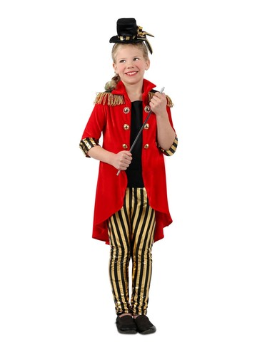 Girl's Ring Leader Circus Costume