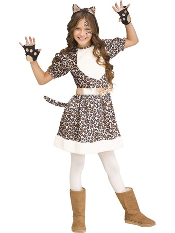 Rose Gold Leopard Costume for Girls