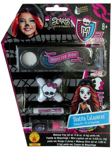 Girl's Skelita Calaveras Monster High Makeup Kit