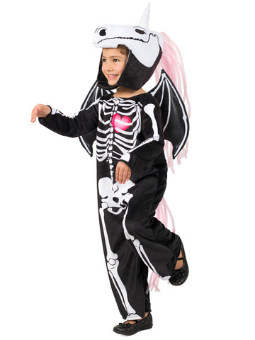 Skelly-Corn Costume for Girls