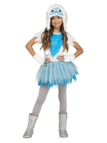 Snow Beastie Costume for Girls