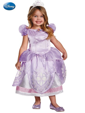 Girl's Sofia the First Deluxe Costume