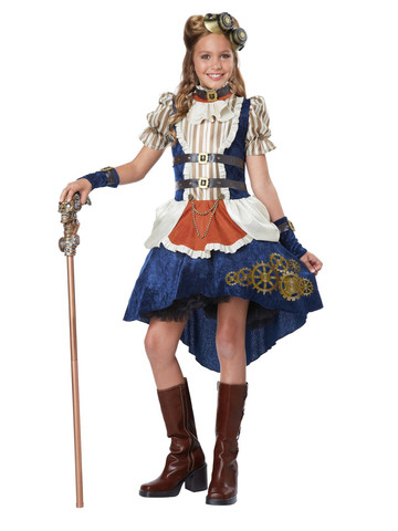 Girls Steampunk Fashion Costume