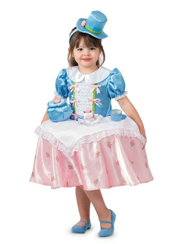 Tea Party Table Top Girl's Costume