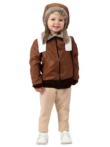 Toddler Amelia the Aviator Girl's Costume