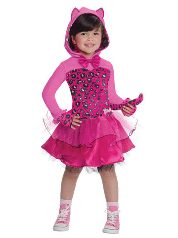 Girls Toddler Barbie Kitty Costume