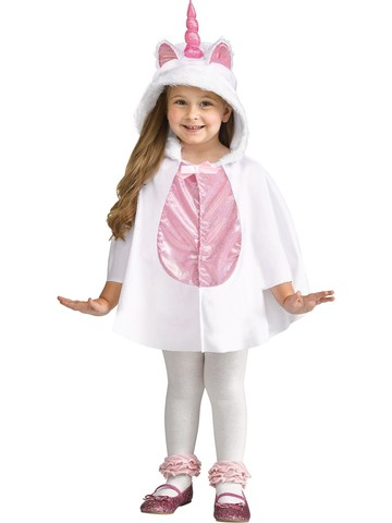 Girl's Unicorn Caplet and Hood