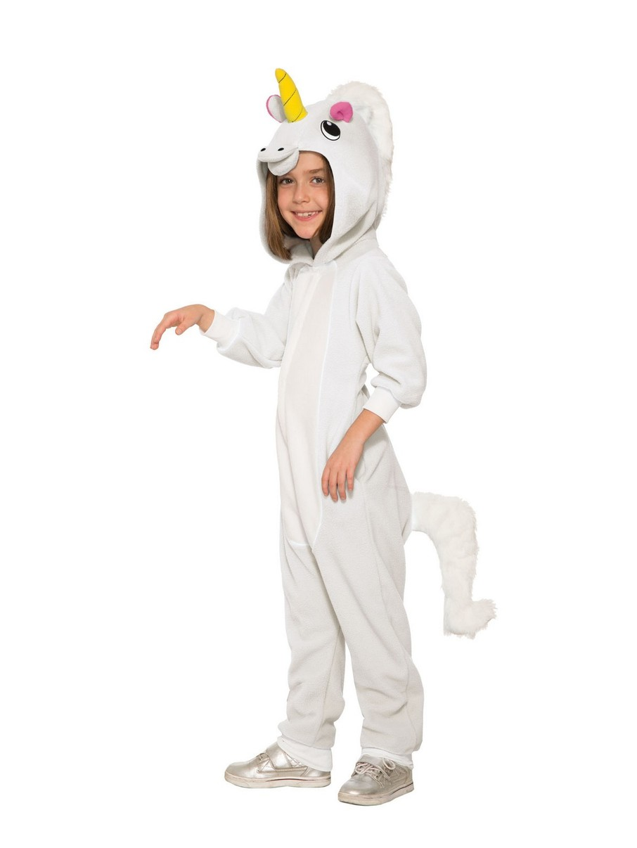 View larger image of Girl's Fantasy Unicorn Onesie