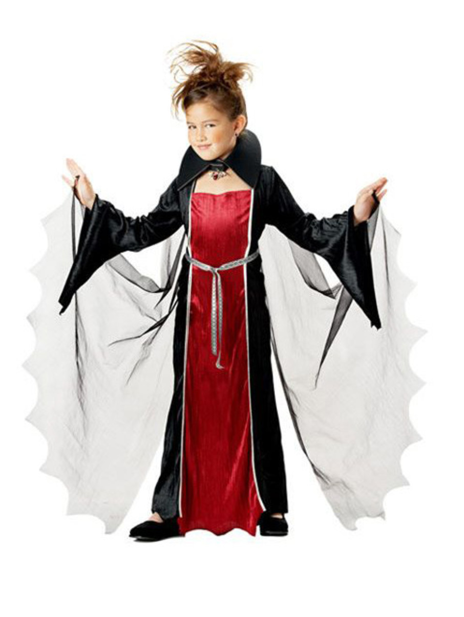 View larger image of Girls Vampire Girl Costume