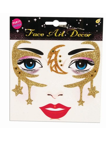 Celestial Gold Face Stickers