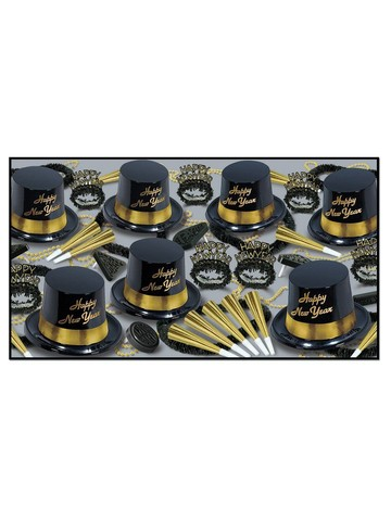 Gold Legacy New Year Assorted Party Kit for 50