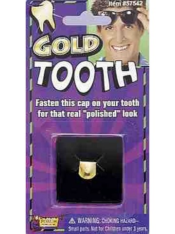 Faux Gold Tooth