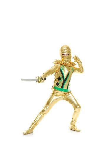 Gold Ninja Avenger Child Costume