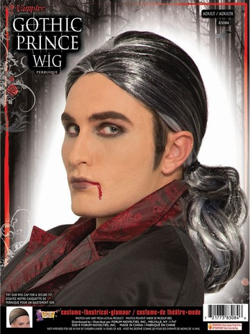 Gothic Vampire Prince Wig