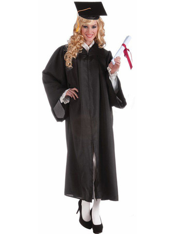 Graduation Black Robe for Adults