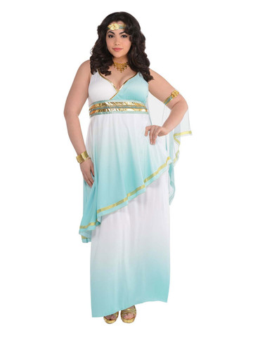 Grecian Goddess Womens Plus Costume