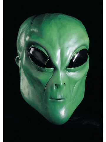 Alien Mask - Green