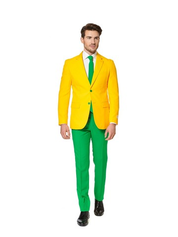 Green and Gold Mens Opposuit
