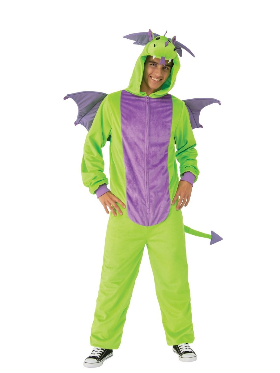 View larger image of Comfy Wear Green Dragon Costume