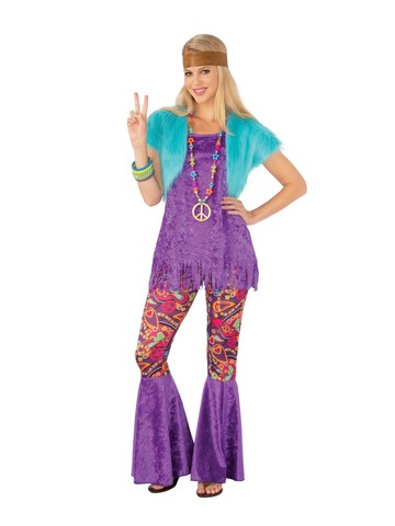 Adult Groovin' Girl Costume