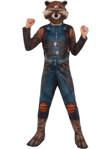 Boys Guardians of the Galaxy Rocket Raccoon Costume