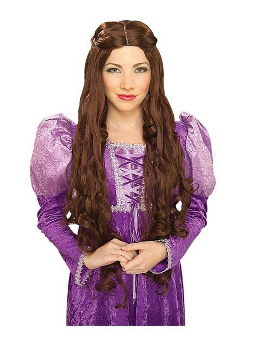 View larger image of Lady Guinevere Brown Adult Wig