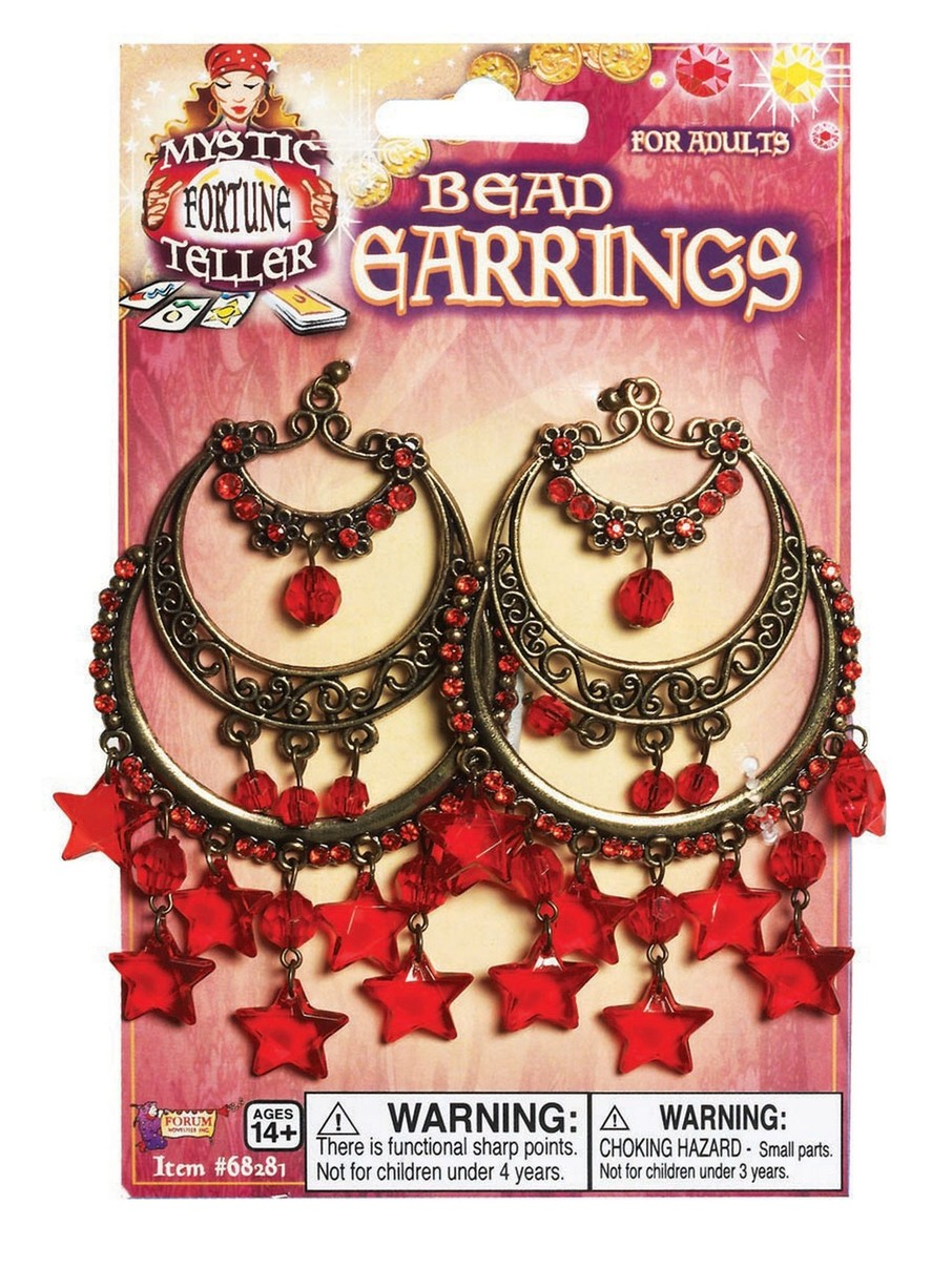 View larger image of Gypsy Red Star Earrings