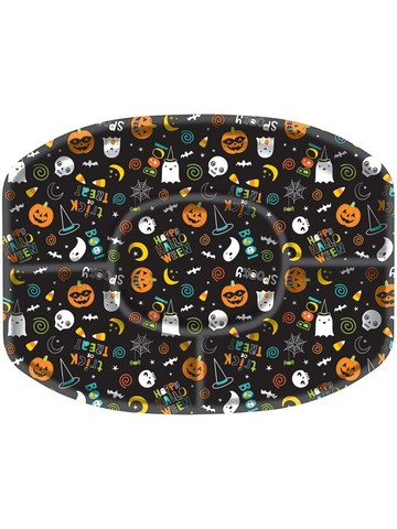 Hallo-ween Friends Sectional Platter