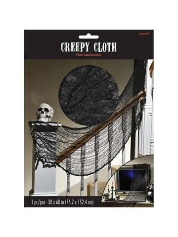 Halloween Black Creepy Cloth