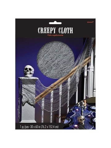 Halloween Grey Creepy Cloth