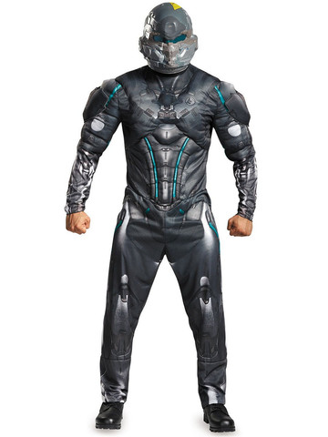 Halo Adult Spartan Locke Muscle Costume