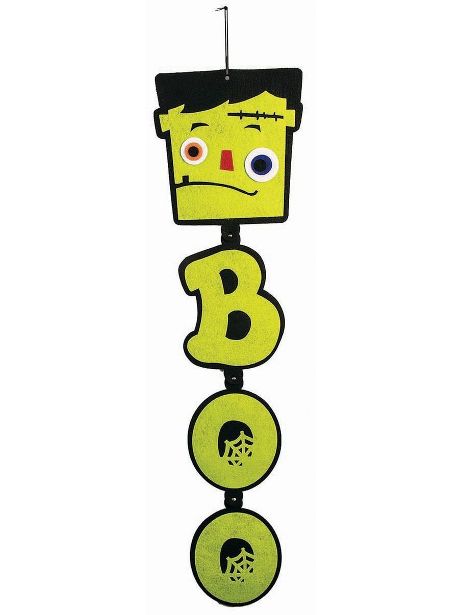 View larger image of Boo Monster Hanging Felt Prop