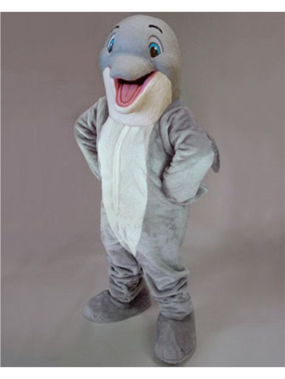 View larger image of Happy Dolphin Mascot Costume